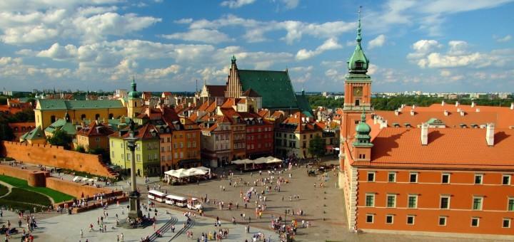 Варшава, вид на Старе Місто.