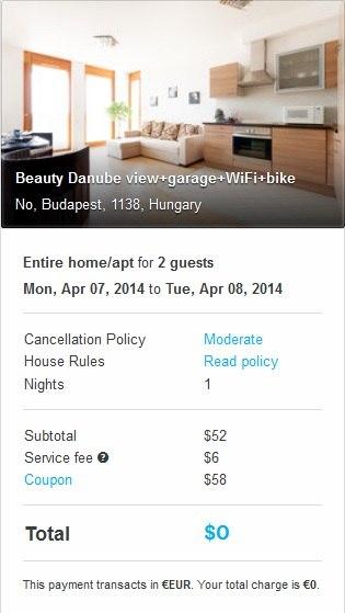 airbnb знижка 58 євро