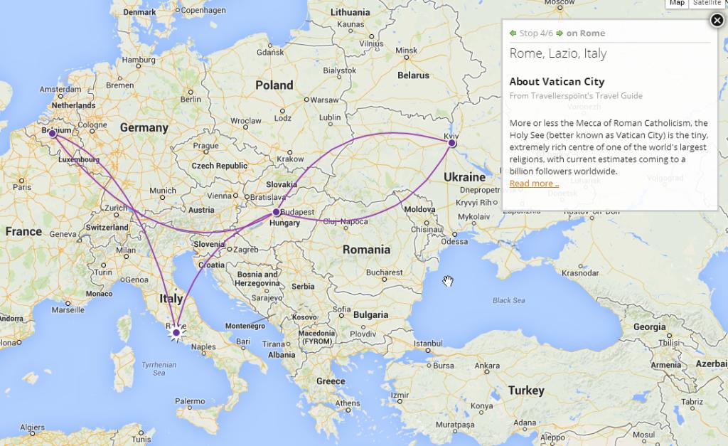 rome-bru-kiev-travel-map