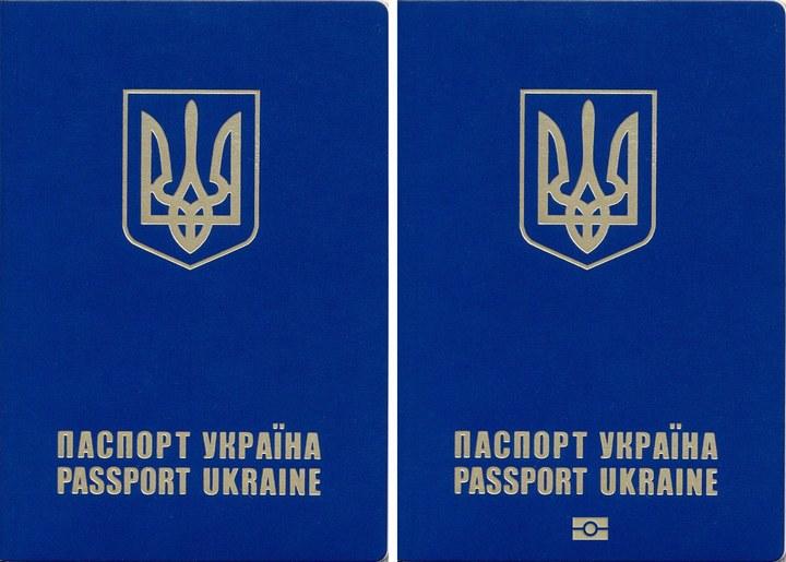 біометричний паспорт вигляд