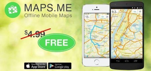 офлайн карти maps.me