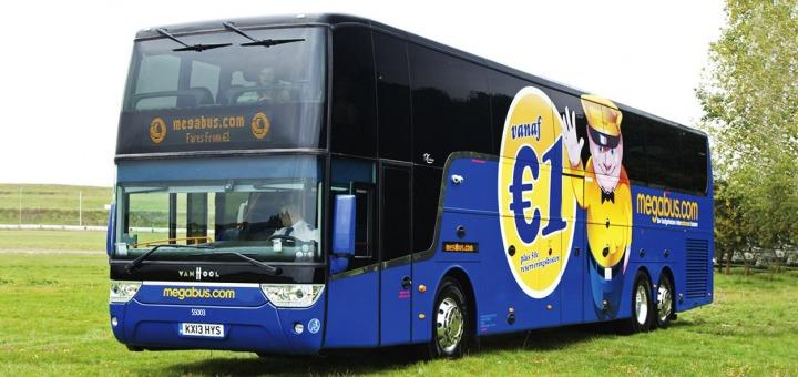 Megabus квитки автобус європа