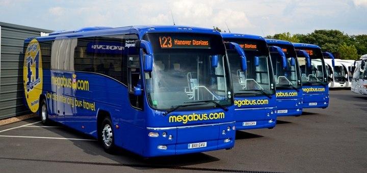 megabus квитки європою 1 євро