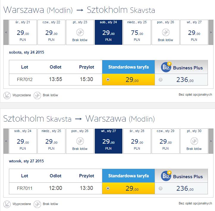 Розпродаж Ryanair  з Польщі по Європі-від 7€! - Lowcost Avia 417181d7aa539