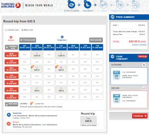 2015-01-23 00_02_37-Turkish Airlines - International Flights _ Flight Selection _ turkishairlines.co
