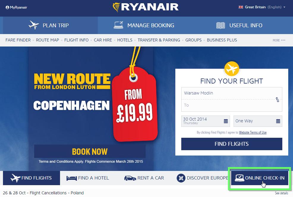 инструкция онлайн регистрация Ryanair - фото 11
