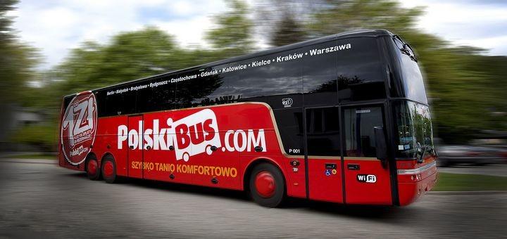 PolskiBus: билеты от 1 злотого в апреле 2018 года! -