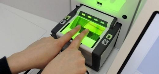 віза відбитки пальців