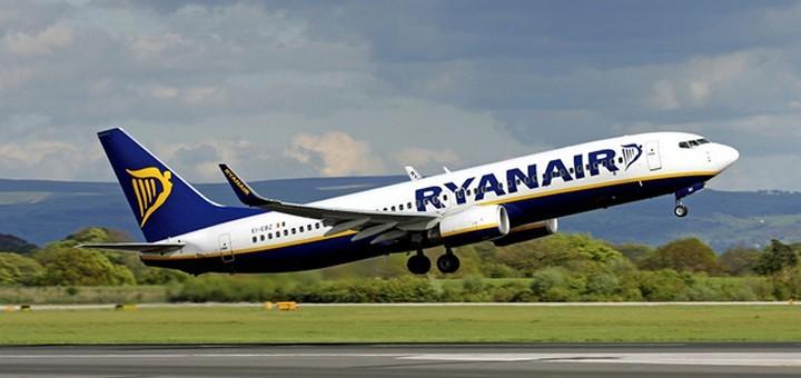 Ryanair: 1000000 авиабилетов от 9€ в одну сторону! -