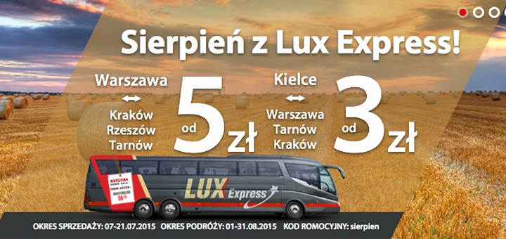 Lux Express-august