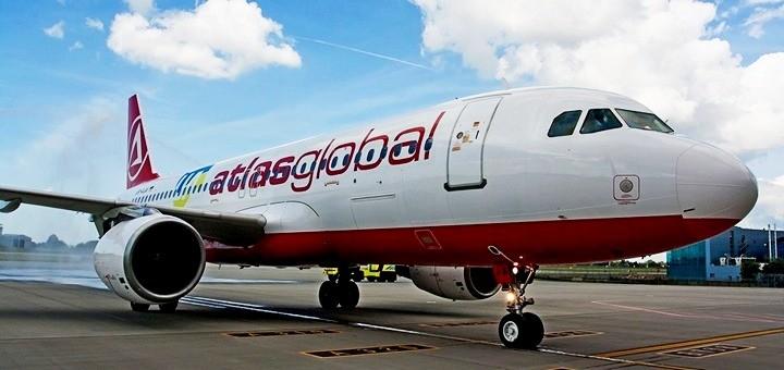 atlasjet розклад рейсів