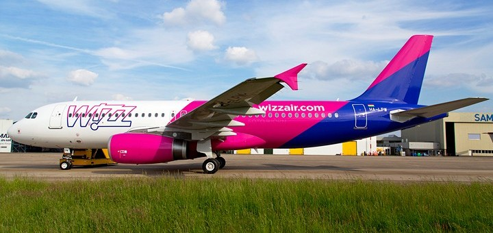 Wizz Air Airbus A320-200 (new livery)720