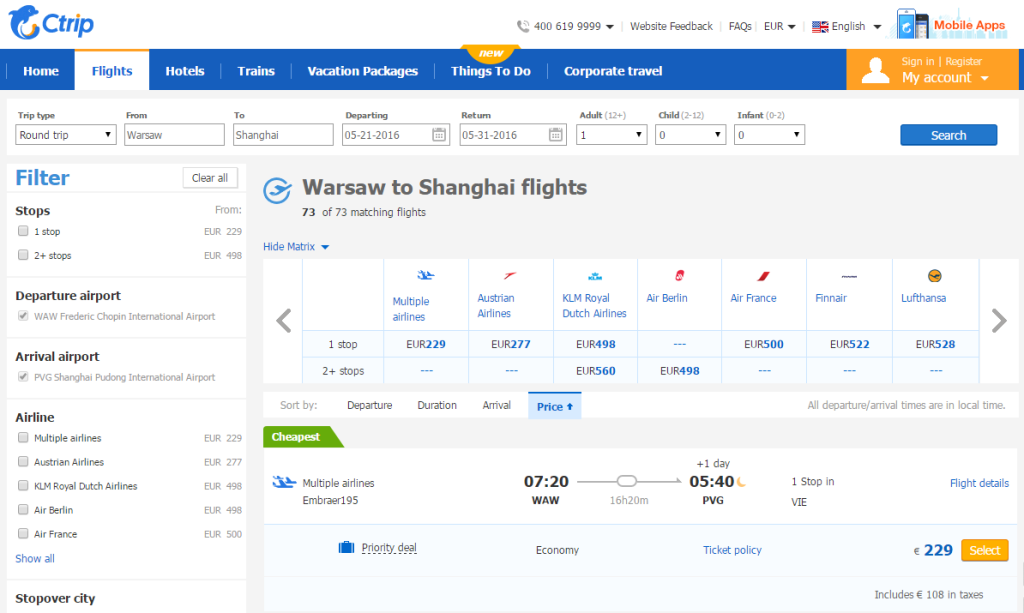 2015-10-11 15_31_47-Book Cheap Warsaw to Shanghai Flights from Ctrip