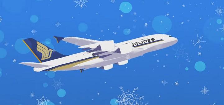 Рождественские видео от авиакомпаний по всему миру - Авиабилеты