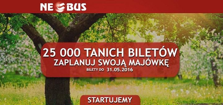 Neobus: билеты по Польше от 1 злотого на майские праздники! - Авиабилеты