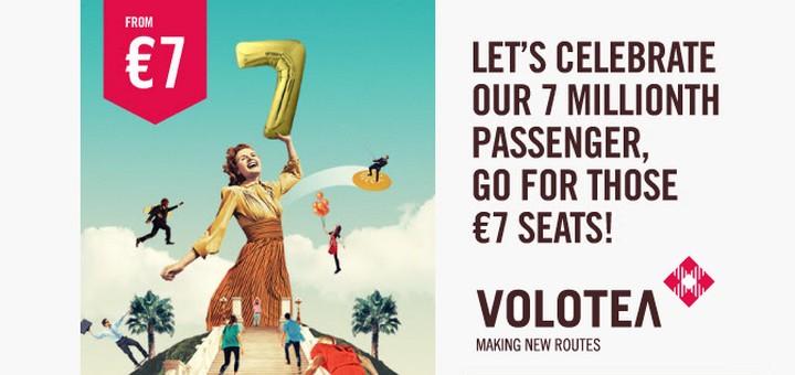 Volotea: авиабилеты по Европе от 7€! Кишинев - Верона по 6,81€!