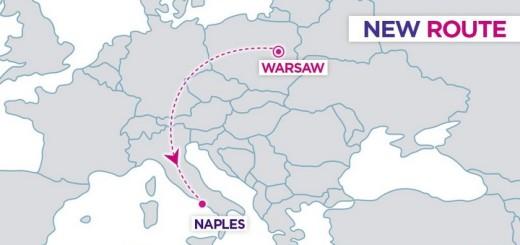 неаполь новий рейс