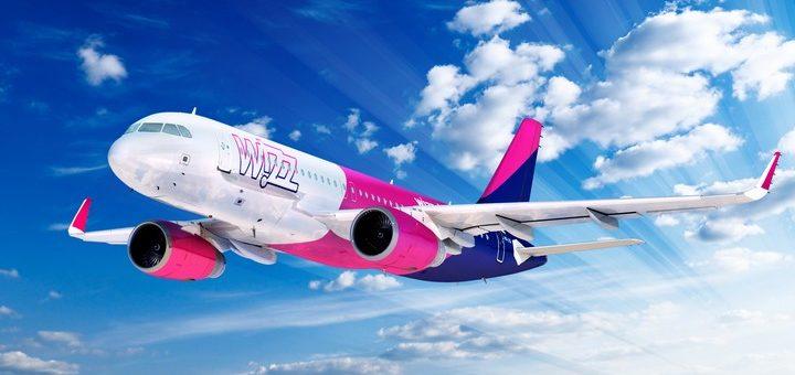 Wizz Air: авиабилеты с багажом по стандартной цене! С Украины от 286 грн для участников WDC!