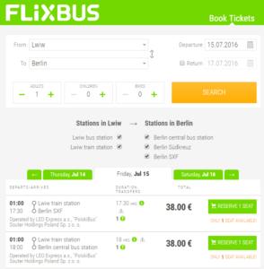 квитки FlixBus