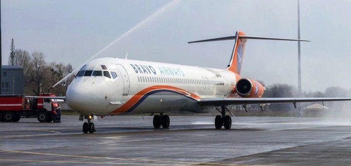 Bravo Airways: Авиабилеты на новый рейс Киев - Одесса от 499 грн!