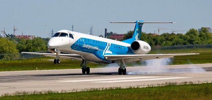 Новый авиарейс Киев - Бухарест от Днеправиа! -