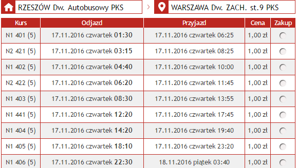 Neobus: билеты по Польше от 1 злотого на осень!