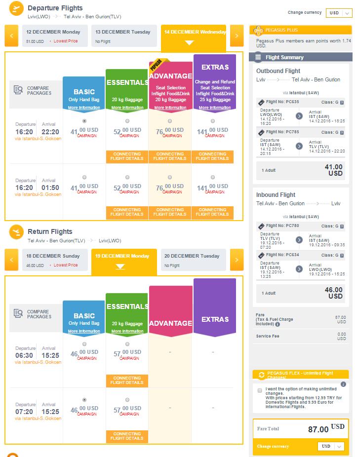 Дешевые авиабилеты в Израиль: из Львова в Тель-Авив от 87$!