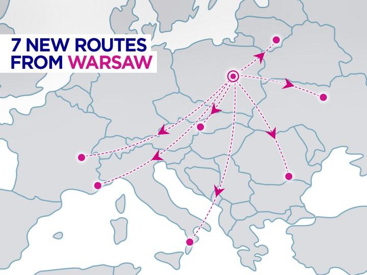 Супер! Wizz Air открывает новый прямой рейс Киев – Варшава!