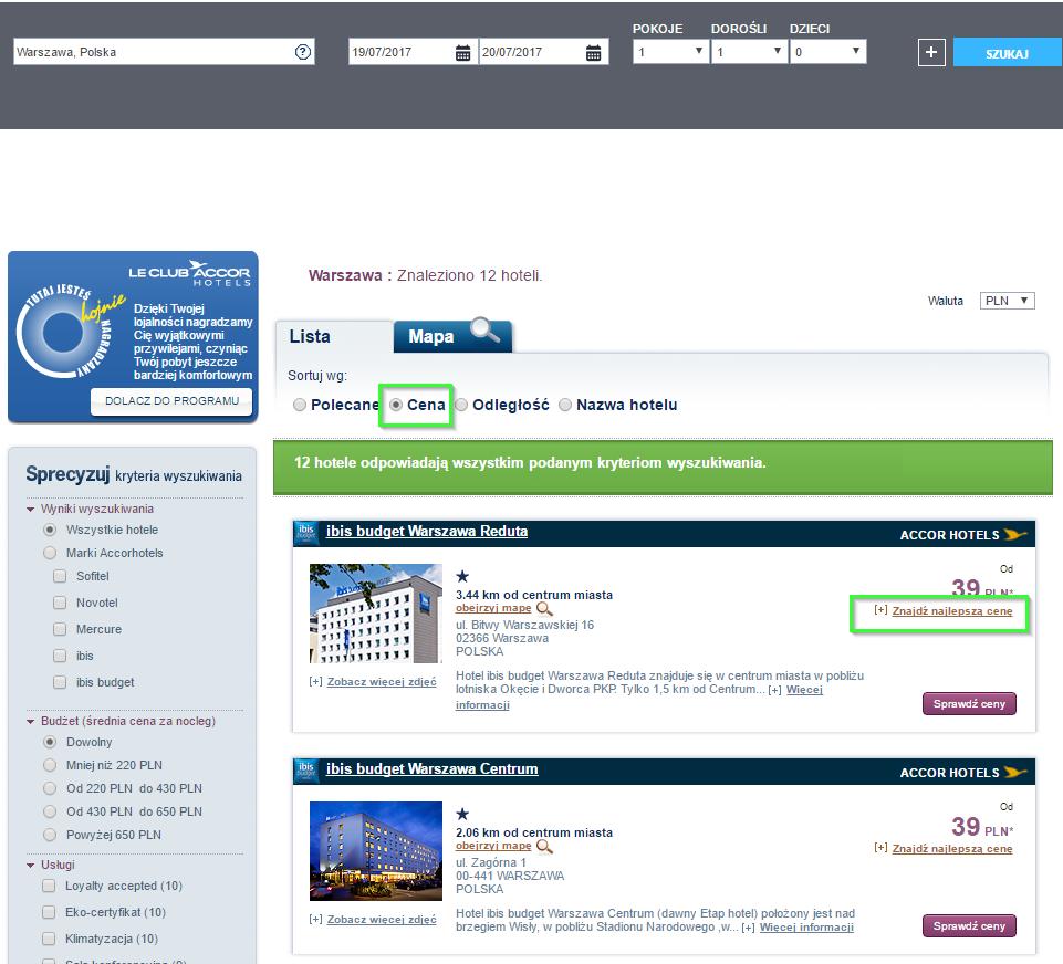 Дешевые номера в гостиницах Польши от 39 злотых (250 грн) на двоих!