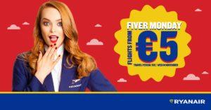 Ryanair: авиабилеты по Европе от 5€ в одну сторону, по Польше от 1,5€!