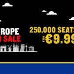 Ryanair: 250000 авиабилетов от 9€ в одну сторону! —