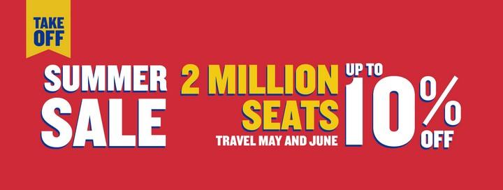 Раянейр продає 2 000 000 авіаквитків на літо зі знижкою до 10%!.  Авіакомпанія Ryanair оголосила про розпродаж ... c6cef6206eb3b