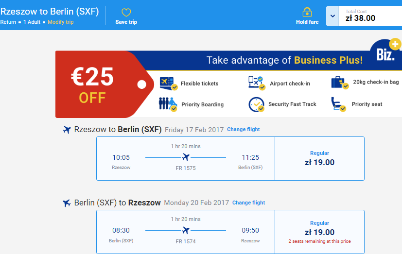 Прямой автобус из Львова + самолет в Берлин - всего за 16€!