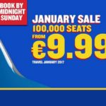 Ryanair: 100 000 авиабилетов по цене от 9,99€! —