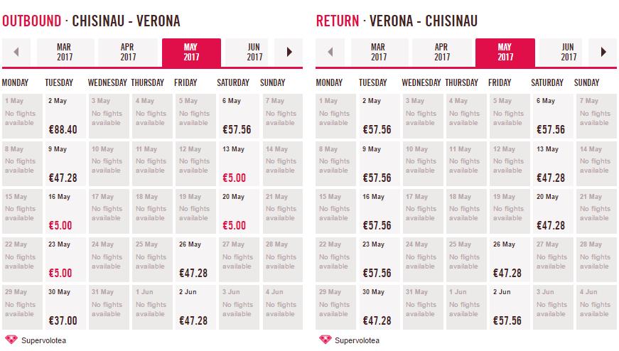 Volotea: авиабилеты по Европе от 5€! Есть Кишинев - Верона за 5€! -