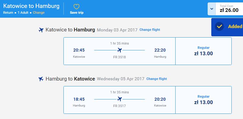 Ryanair - авиабилеты по Европе от 2,93€ в одну сторону!
