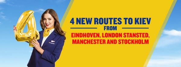 Лоукост Ryanair объявил об открытии новых рейсов из Украины!