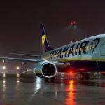 Впервые самолет Ryanair совершил посадку в Украине! —