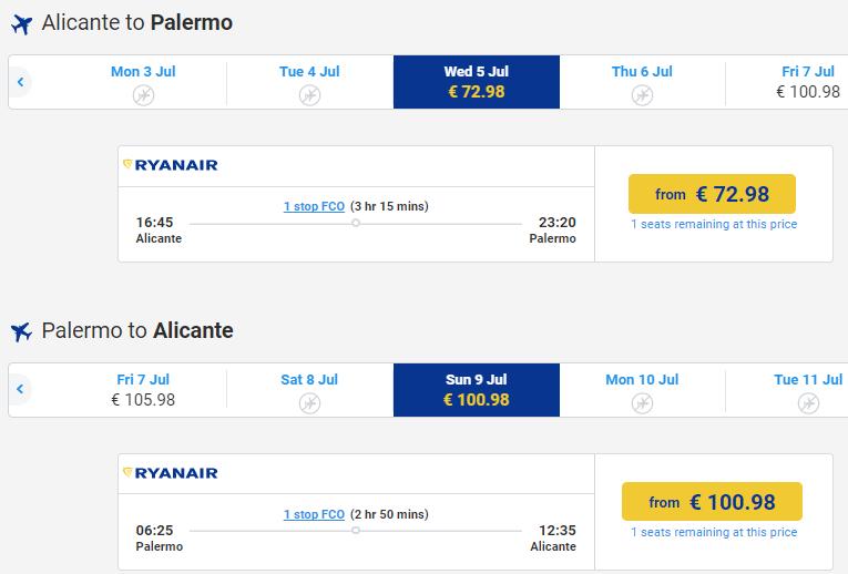 Ryanair начал продажу билетов на рейсы со стыковками!