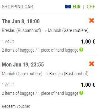 Flixbus: автобусные билеты по Европе от 1€! Есть также от 1€ из Польши! -