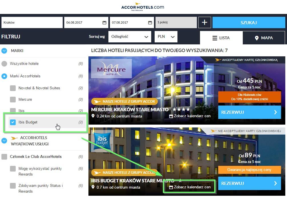 дешеві готелі польща