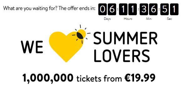 Vueling: распродажа авиабилетов от €14,97 в одну сторону! -