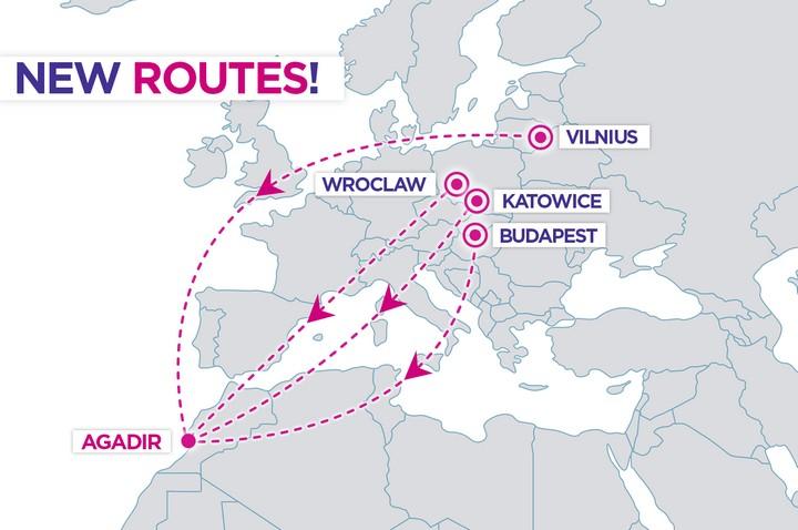 Wizz Air открывает прямые рейсы из Польши в Марокко и Португалию!