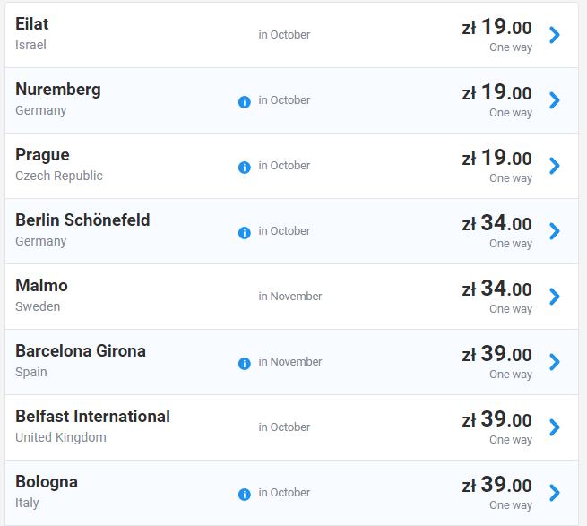 Супер розпродаж Ryanair! Авіаквитки по Європі від €4! - Lowcost Avia d7f8384205ecb