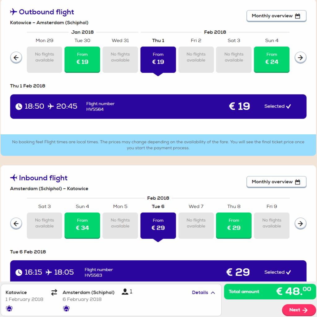 Прямые рейсы в Амстердам из Польши от €48 в две стороны!