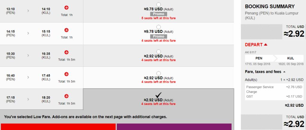 AirAsia Big Sale: распродажа авиабилетов от $3 в одну сторону! -