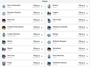 Хит от Ryanair! Из Польши в Порту, Париж, Барселону, Мадрид, Милан от €4!