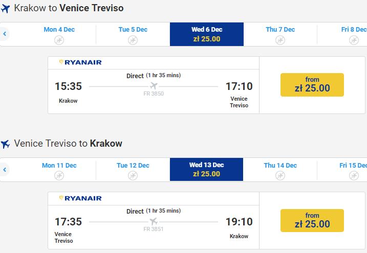 Барселона из Польши от €16 в две стороны, Венеция и Милан от €12! Распродажа 100000 авиабилетов от Ryanair! -