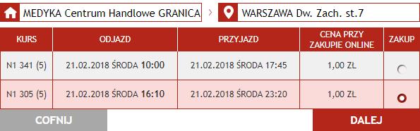 Из Львова в Краков, Варшаву или Вроцлав от 30 грн!