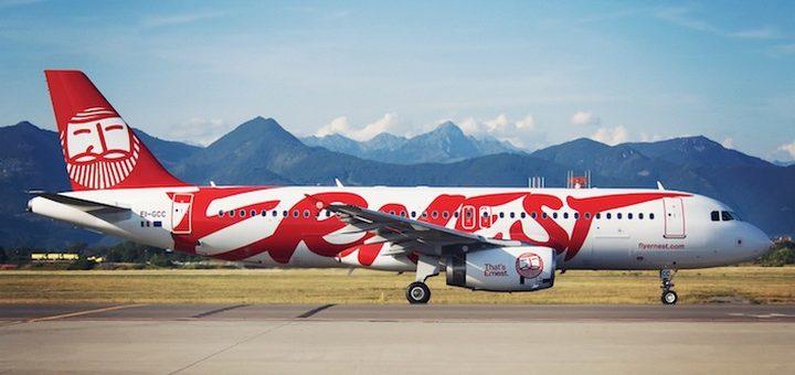 Ernest Airlines откроет новые рейсы из Киева в Рим и Милан (Мальпенса)! Билеты от €66! -